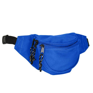 "DALIX Small Fanny Pack Waist Pouch Travel Belt (24""-31"") Fanny Packs DALIX Royal Blue"