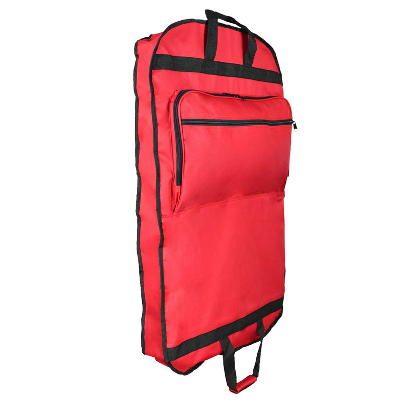 "DALIX 39"" Garment Bag Cover for Suits Clothing Foldable w Pockets"