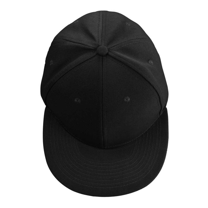 DALIX Flat Billed Structured Baseball Cap