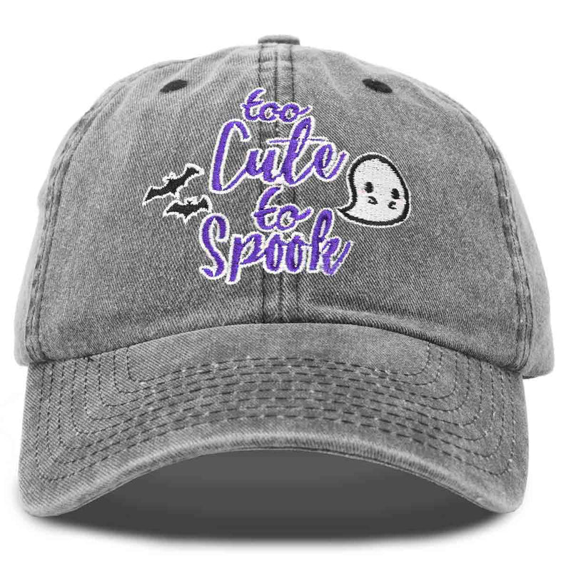 DALIX Halloween Hat Too Cute To Spook Womens Baseball Cap