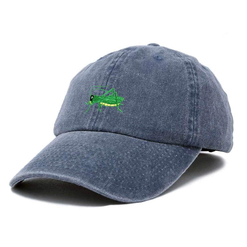 DALIX Nature Outdoors Grasshopper Baseball Cap Embroidered Hat