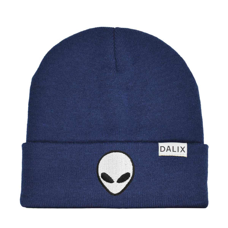 DALIX Winter Cap E.T. Alien Beanie Embroidered Hat