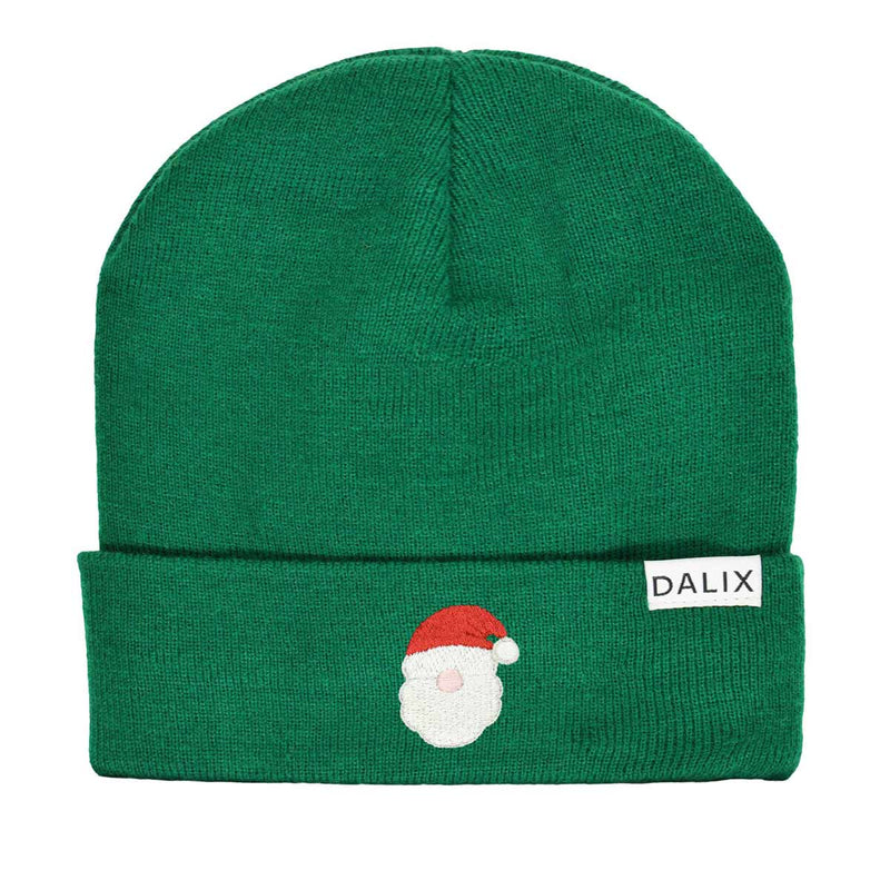 Christmas Urban Santa Beanie Warm Winter Cap Embroidered Hat