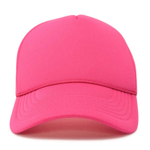 227c3d3b353 DALIX Trucker Cap Mesh Hat with Solid Colors and Adjustable Strap and Small  Braid