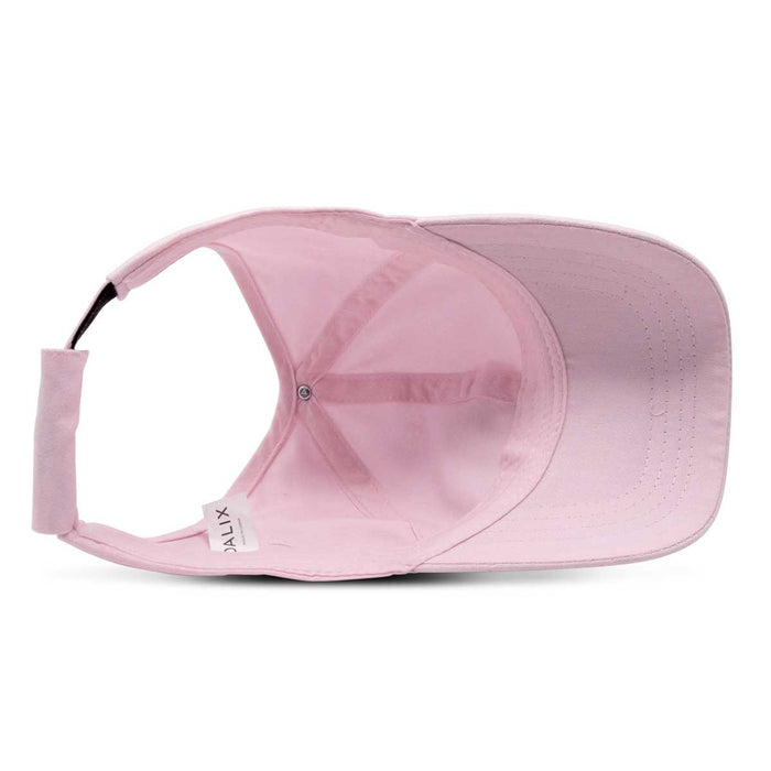 DALIX Ladies Ponytail Cap Half Visor with Adjustable Elastic Band
