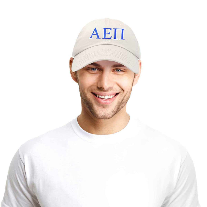 Alpha Epsilon Pi Fraternity Greek Letters Ball Cap Embroidered Hat
