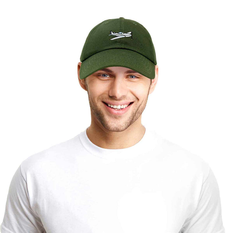 DALIX Aviator Airplane Ball Cap Embroidered Hat