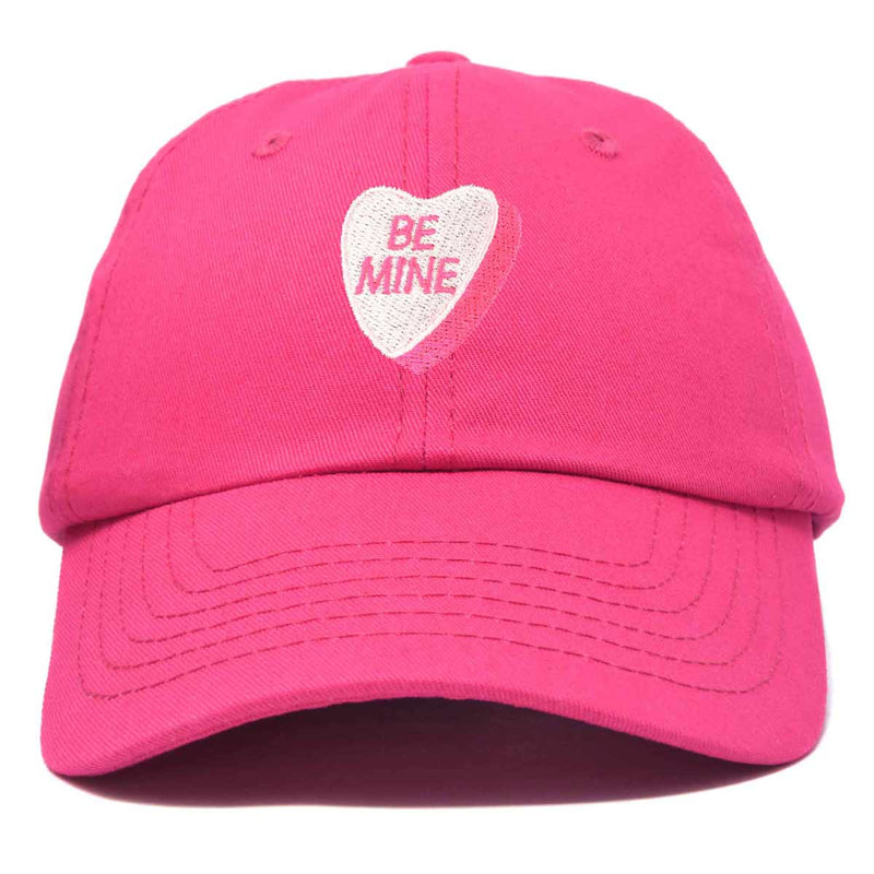 DALIX Be Mine Valentine's Day Candy Hat Womens Embroidered Baseball Cap