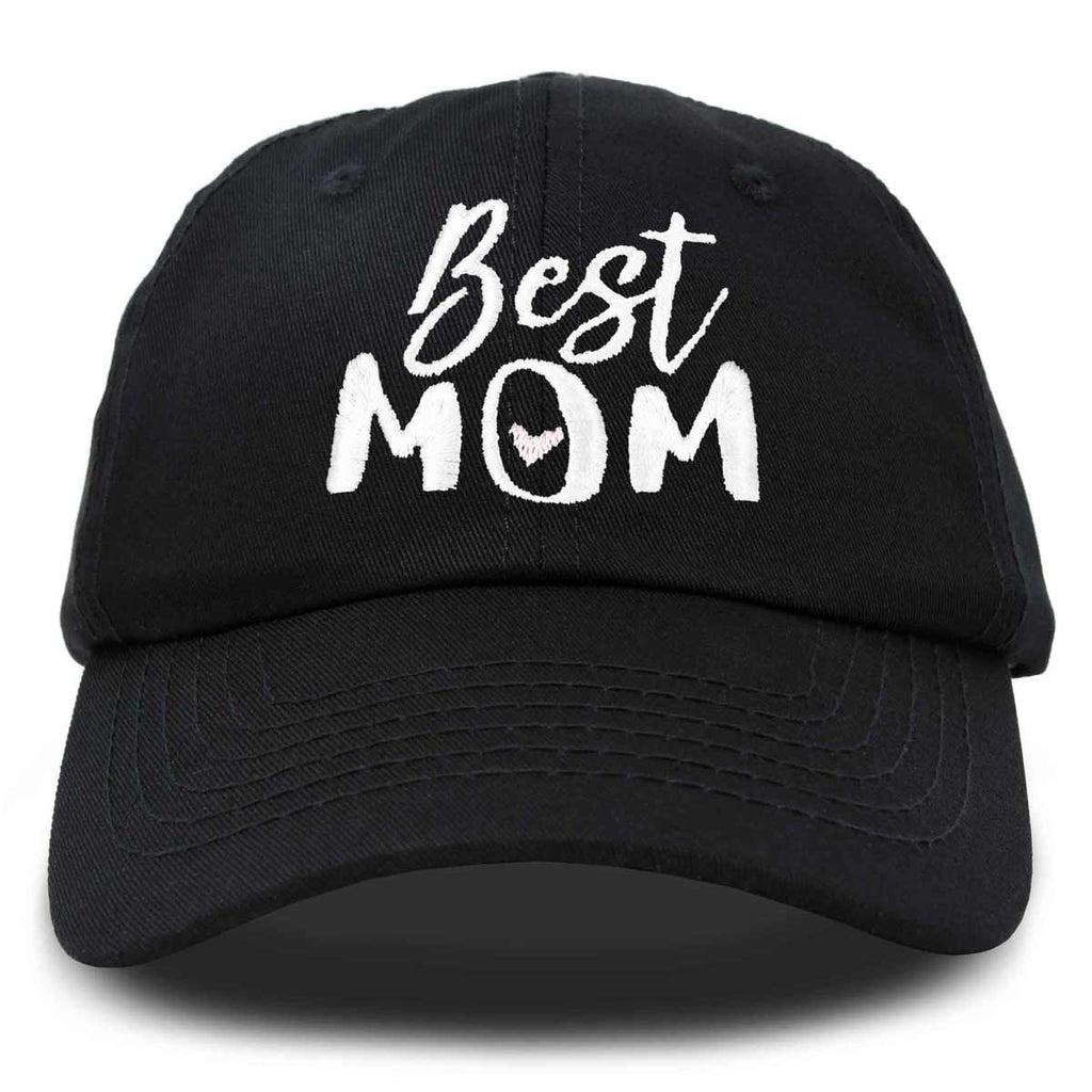 DALIX Best Mom Baseball Cap Womens Dad Hats Adjustable Mothers Day Hat