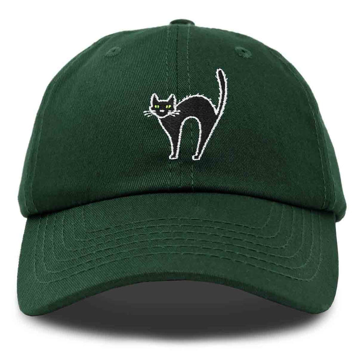 DALIX Black Cat Hat Womens Halloween Baseball Cap