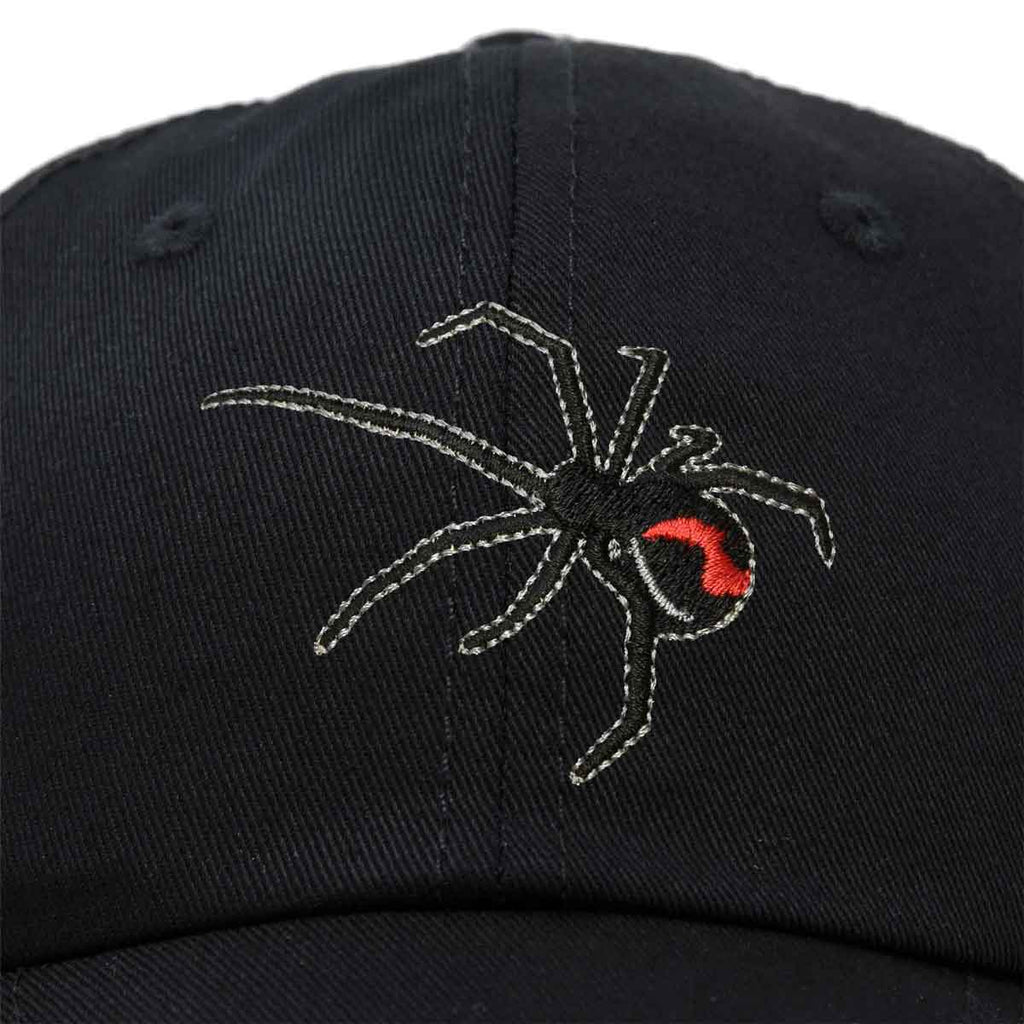 DALIX Black Widow Spider Hat Mens Womens Baseball Cap