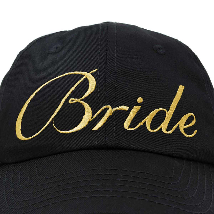DALIX Bachelorette Bride Tribe Squad Dad Hats Bridal Bridesmaids Caps