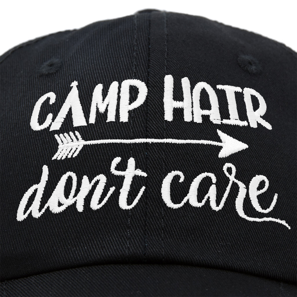 DALIX Camp Hair Don't Care Hat Dad Cap Cotton Lightweight