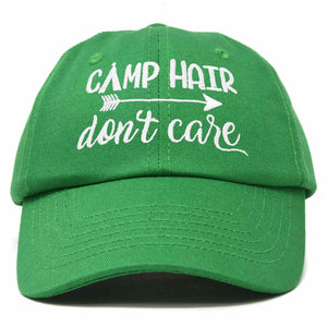 DALIX Camp Hair Don't Care Hat Dad Cap 100% Cotton Lightweight