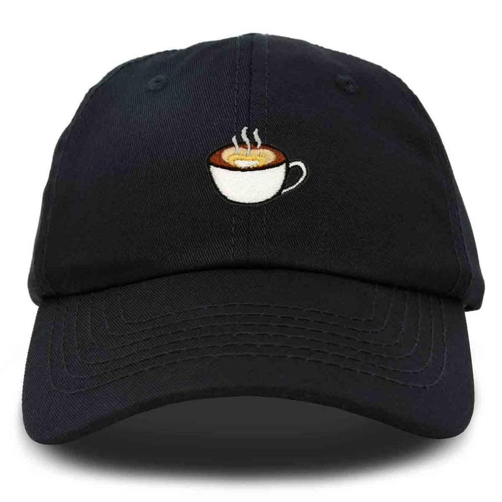DALIX Cappuccino Hat Coffee Cup Womens Baseball Cap