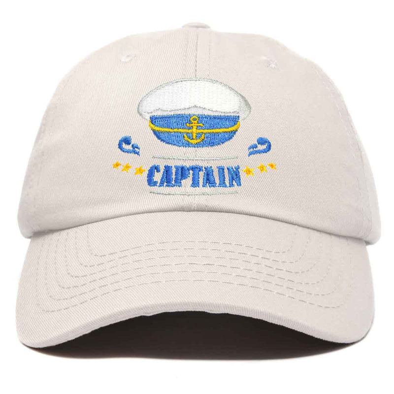DALIX Sailing Captain Hat Embroidered Baseball Cap Mens Womens