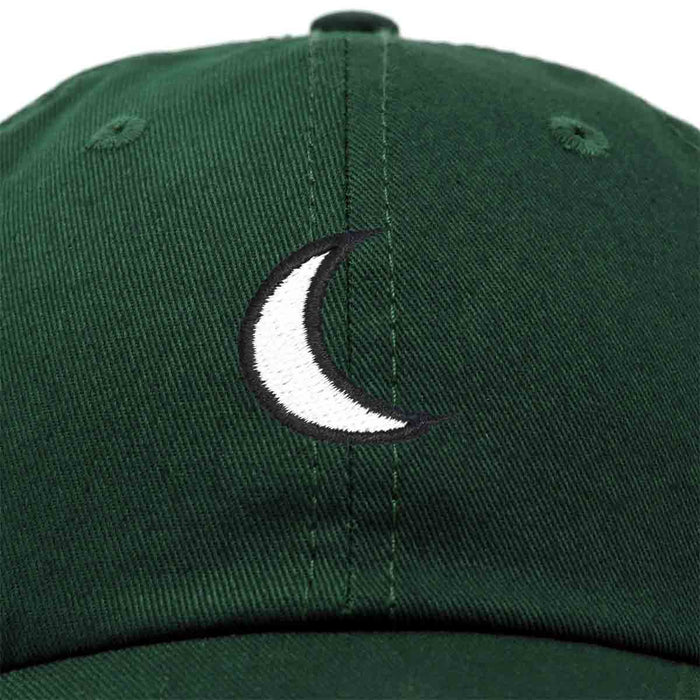 DALIX Waning Crescent Moon Hat Mens Womens Astrology Baseball Cap