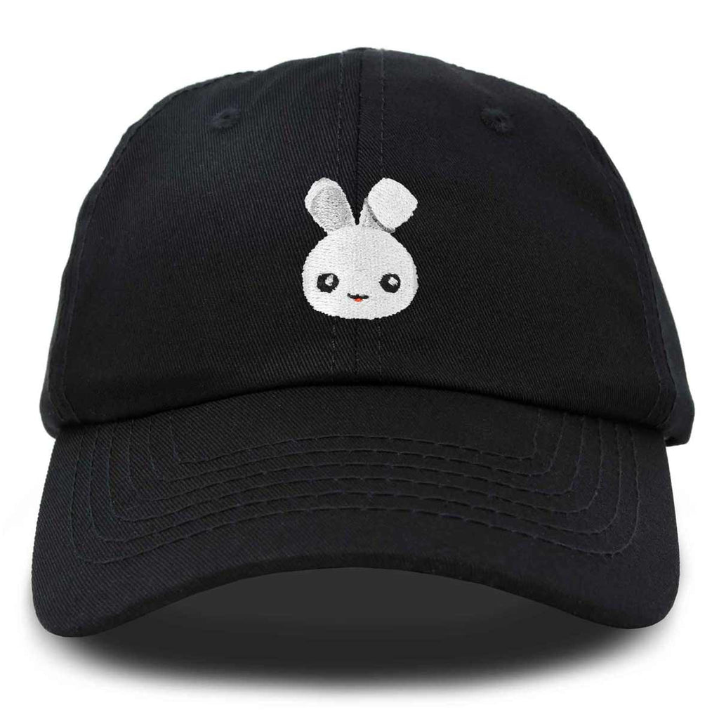 DALIX Cute Bunny Dad Hat Cotton Twill Baseball Cap Embroidered Design