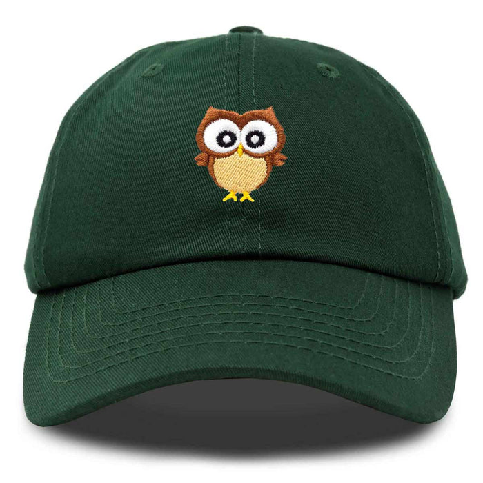 DALIX Cute Owl Hat Cotton Baseball Cap
