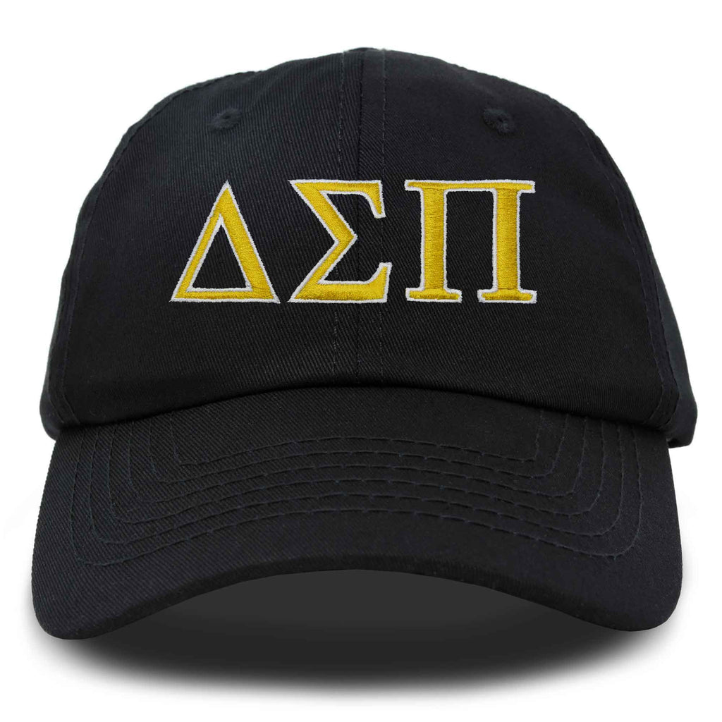 DALIX Delta Sigma Pi Greek Letters Ball Cap Embroidered Hat