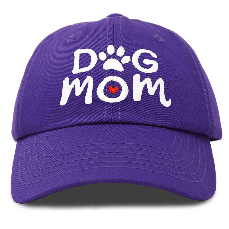 DALIX Dog Mom Baseball Cap Women's Hats Dad Hat