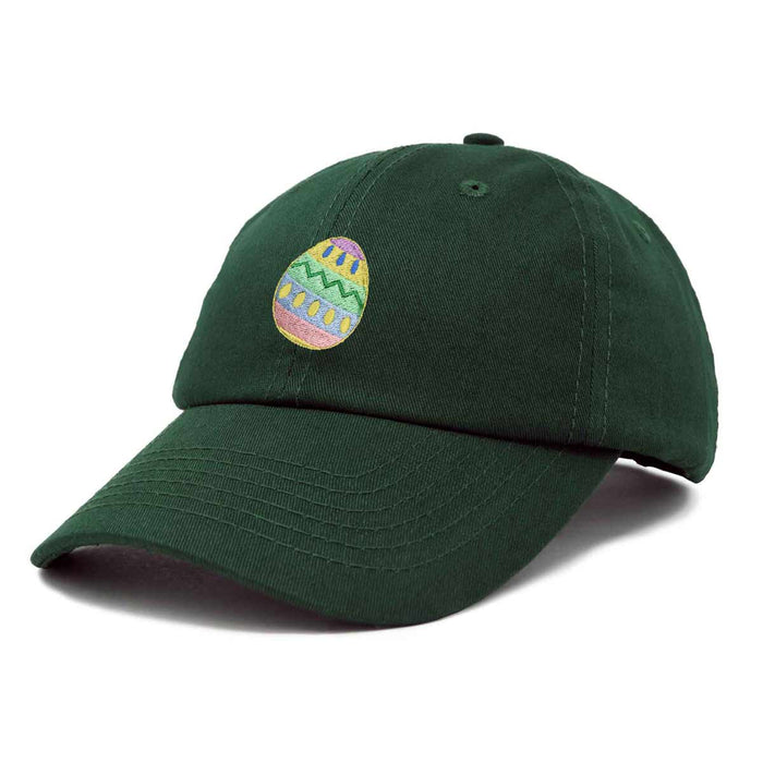 DALIX Elegant Colorful Egg Easter Hat Womens Embroidered Baseball Cap