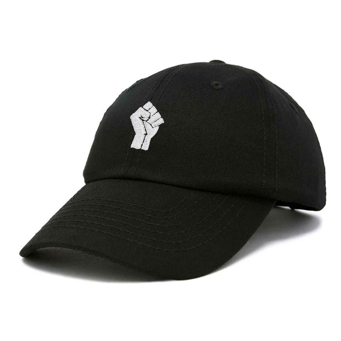 DALIX BLM Fist Baseball Cap Embroidered Hat