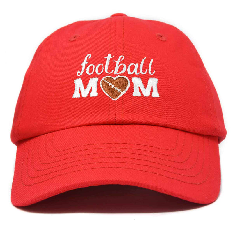 DALIX Football Mom Baseball Cap Womens Dad Hats Adjustable Hat Mothers Day