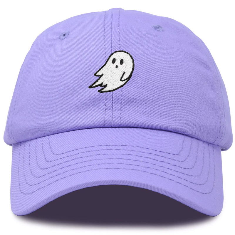 DALIX Ghost Embroidery Dad Hat Baseball Cap Cute Halloween