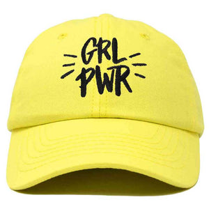DALIX Girl Power Baseball Cap Dad Hat Womens Girls Teens