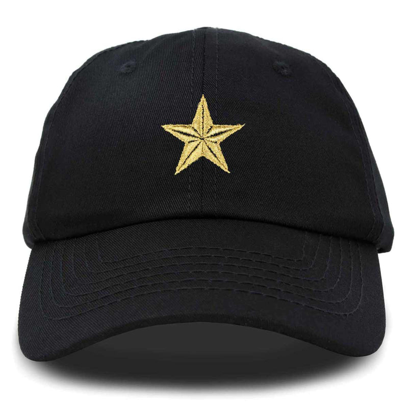DALIX Gold Super Star Hat Womens Embroidered Baseball Cap