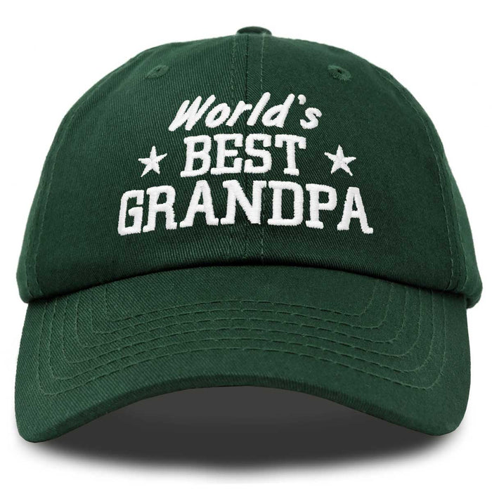 Custom Snapback Hats for Men /& Women Best Grandpa Ever Red Embroidery Cotton