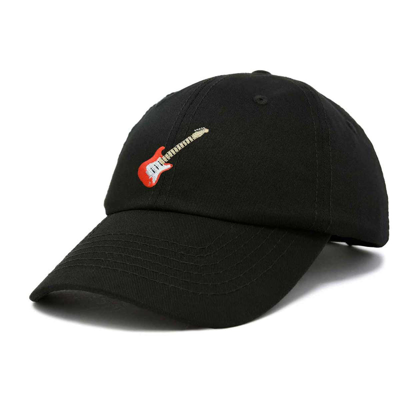 DALIX Electric Guitar Ball Cap Embroidered Hat