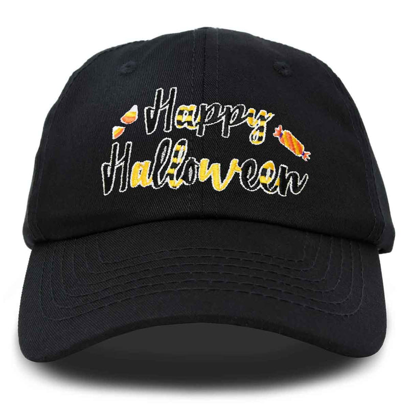DALIX Happy Halloween Hat Treats Mens Womens Baseball Cap