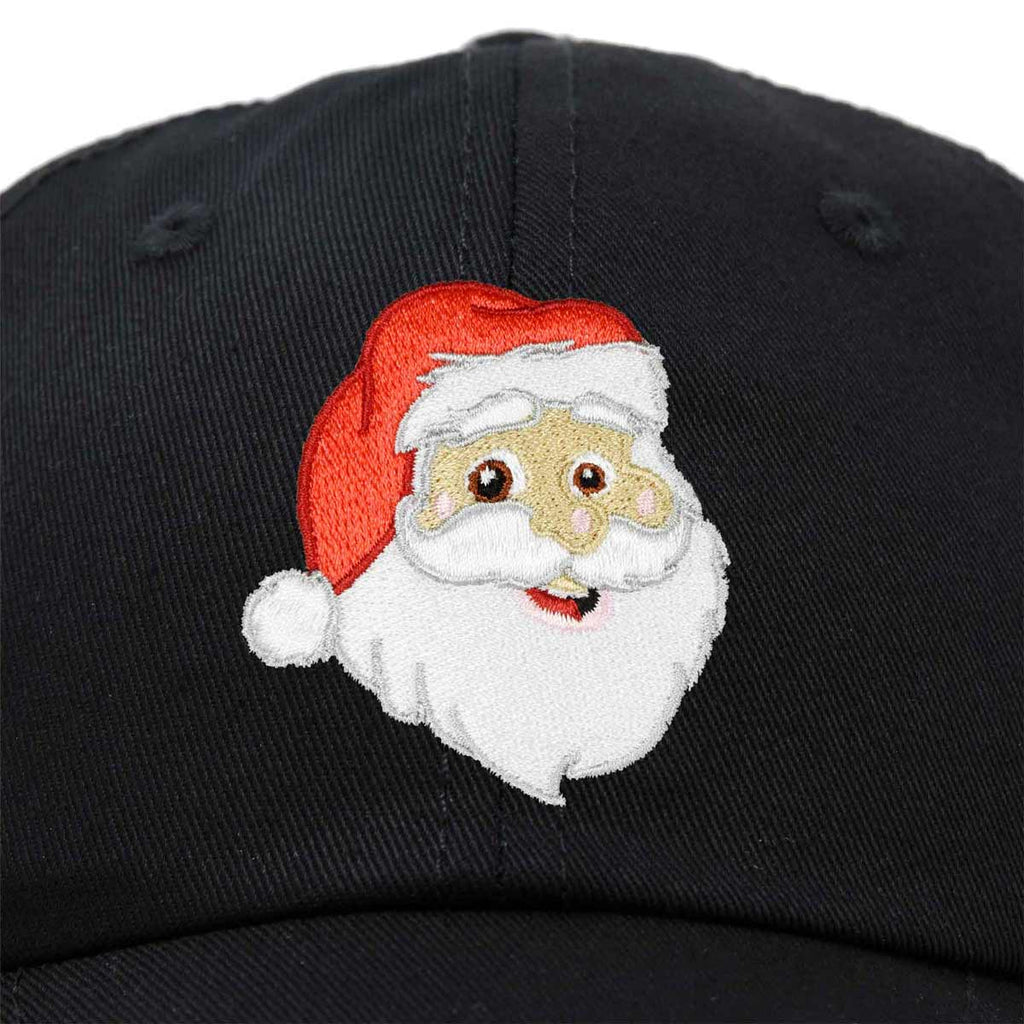 Custom Baseball Cap Christmas Santa Claus Embroidery Dad Hats for Men /& Women