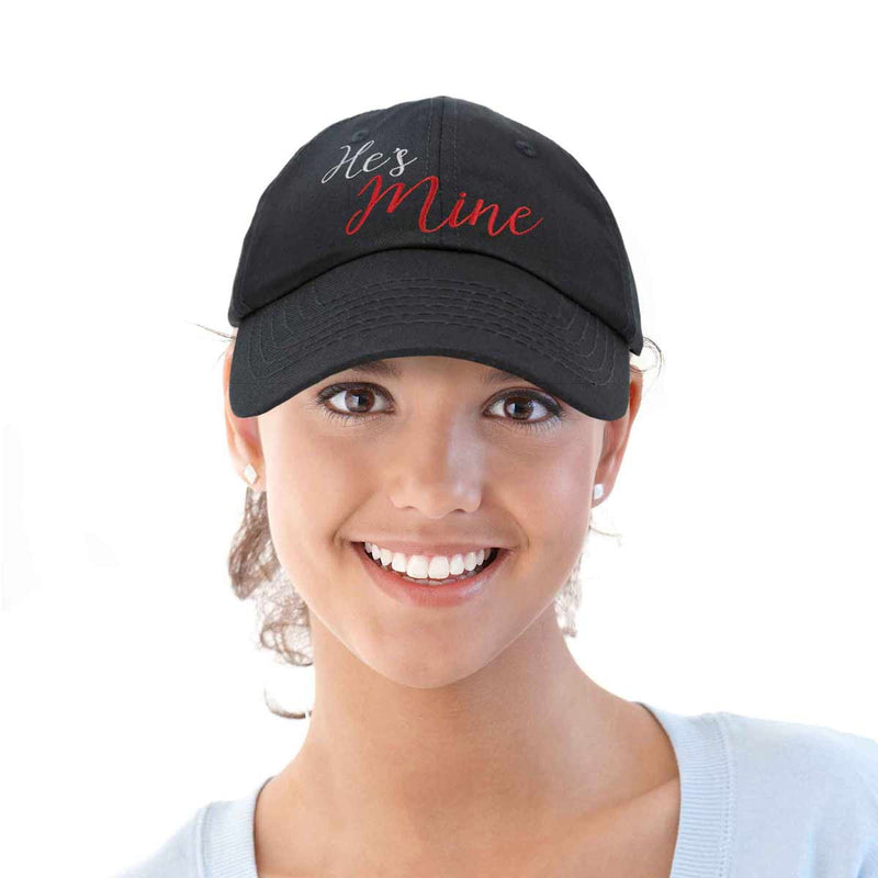 DALIX Matching His and Her Hat Set of 2 Couples Embroidered Baseball Cap
