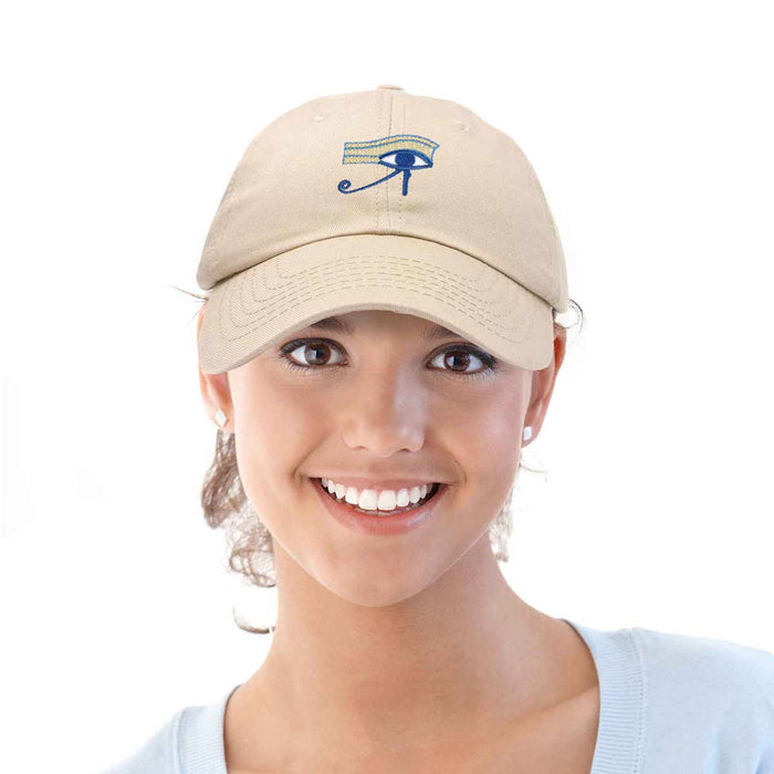 DALIX Eye Of Horus Hat Womens Embroidered Baseball Cap