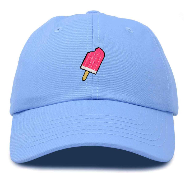 DALIX Neon Ice Cream Bar Baseball Cap Womens Embroidered Hat
