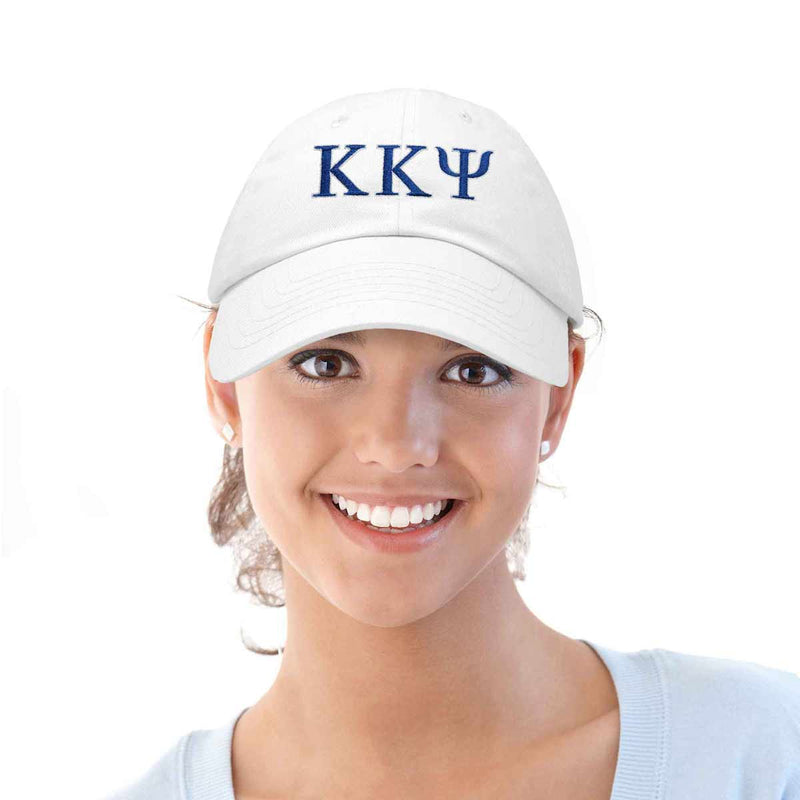 DALIX Kappa Kappa Psi Greek Letters Ball Cap Embroidered Fraternity Hat