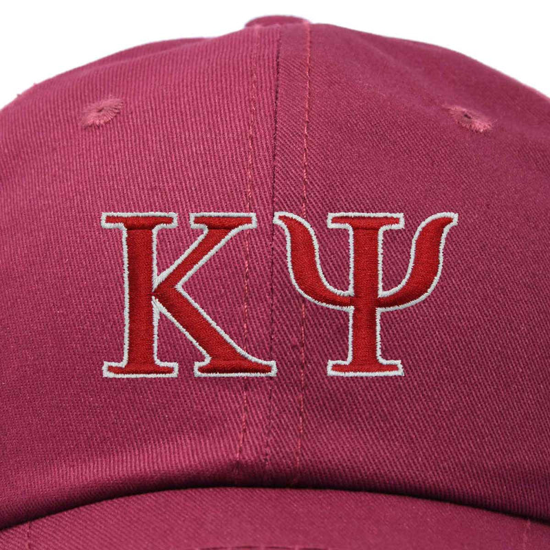 DALIX Kappa Psi Greek Letters Baseball Cap Embroidered Fraternity Hat