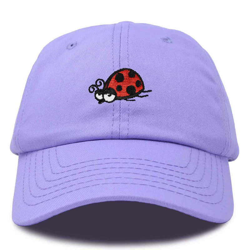 DALIX Nature Ladybug Hat Womens Embroidered Baseball Cap