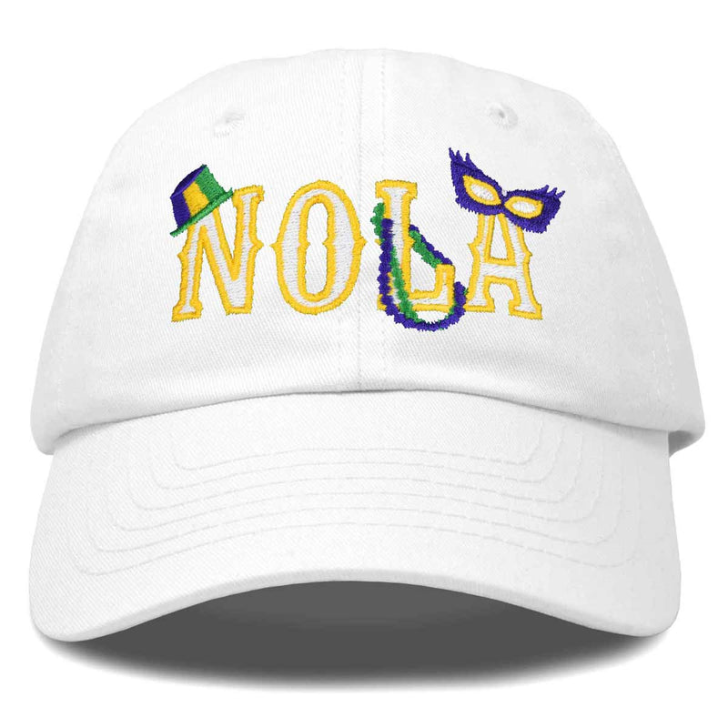 DALIX New Orleans NOLA Hat Womens Embroidered Baseball Cap