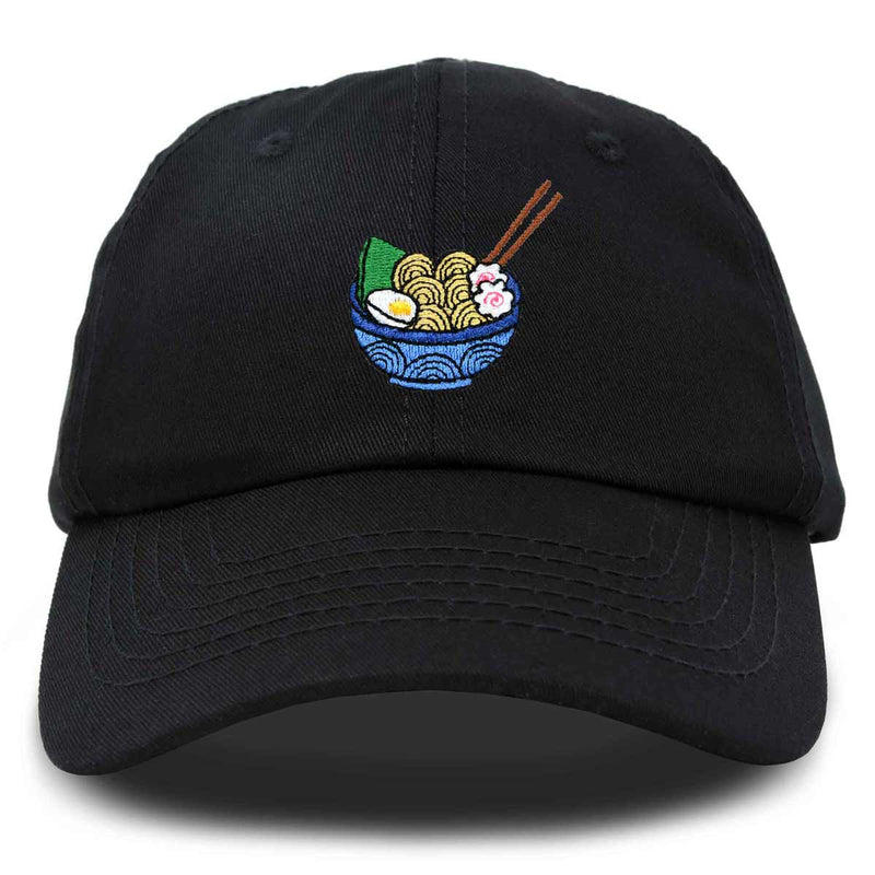 DALIX Ramen Noodles In A Bowl Hat Womens Embroidered Baseball Cap