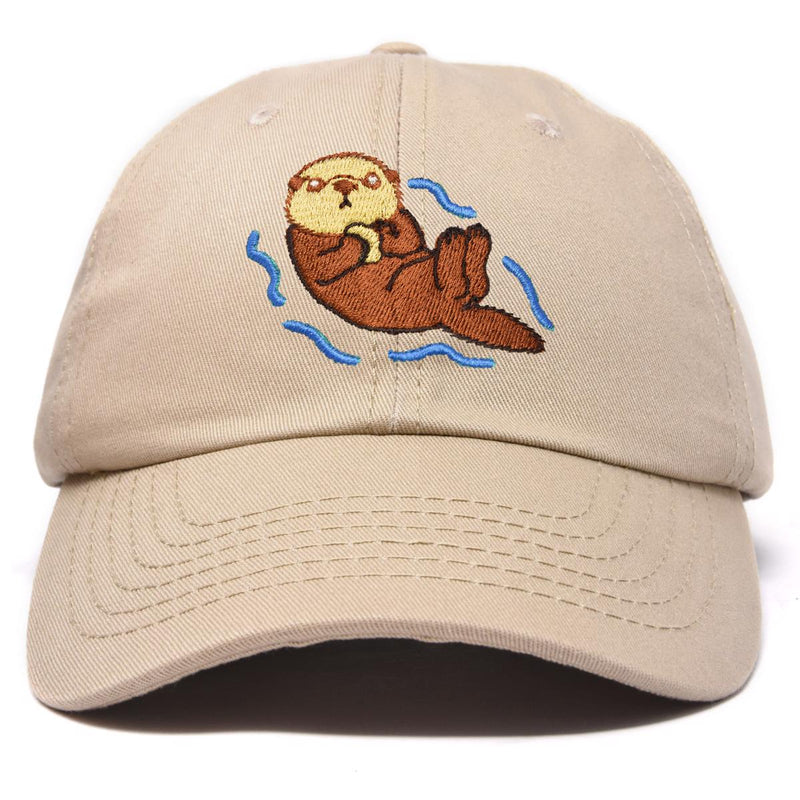 DALIX Otter Cap Animal Dad Hat Embroidered Nature Mom Baseball Cap