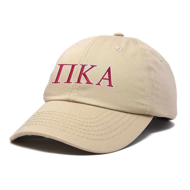 DALIX Pi Kappa Alpha Greek Letters Ball Cap Embroidered Fraternity Hat
