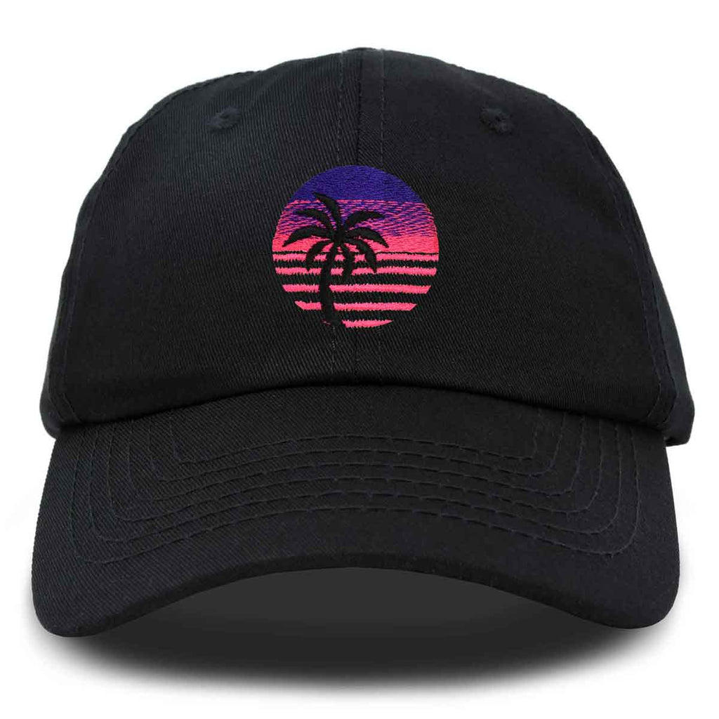 DALIX Palm Tree Dad Hat Womens Embroidery Baseball Cap