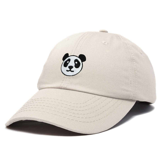 DALIX Panda Face On A Hat Mens Womens Embroidered Baseball Cap
