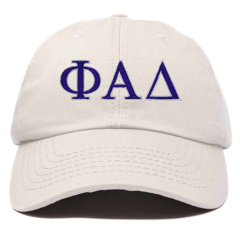 DALIX Phi Alpha Delta Greek Letters Ball Cap Embroidered Hat