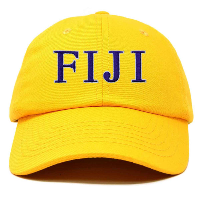DALIX Phi Gamma Delta Greek Letters Ball Cap Embroidered Fraternity Hat