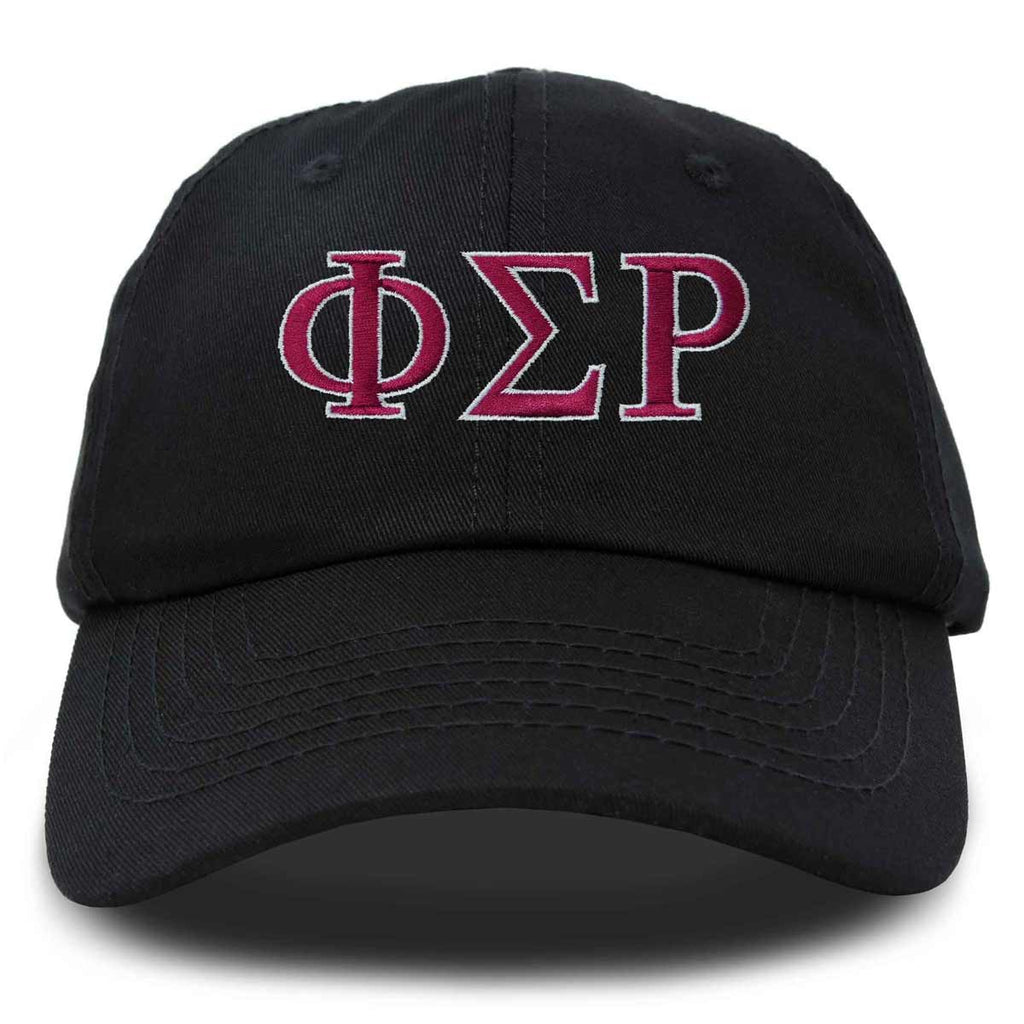 DALIX Phi Sigma Rho Greek Letters Hat Womens Embroidered Baseball Cap